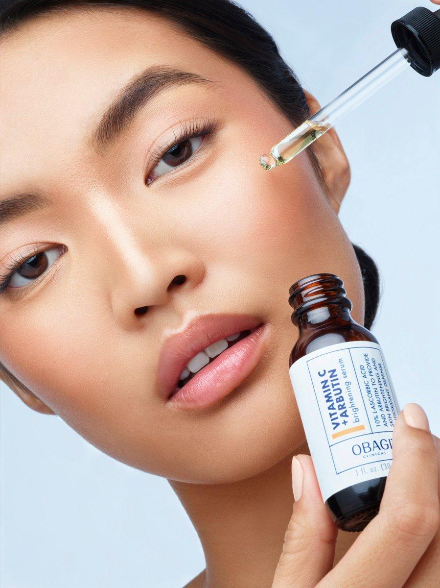 Serum Obagi Clinical Vitamin C+ Arbutin chăm sóc da mượt mà, căng bóng