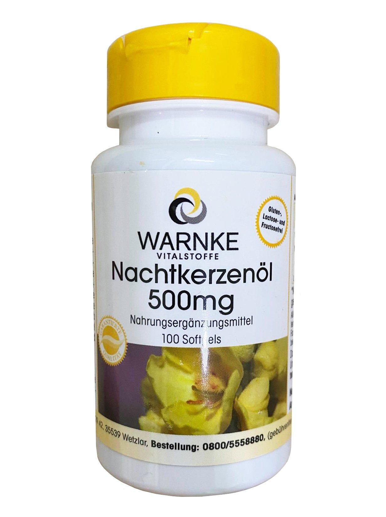 Viên uống tinh dầu hoa anh thảo Warnke của Đức mẫu mới