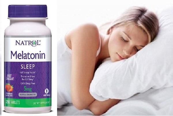 Viên ngậm Natrol Melatonin Sleep 5mg cải thiện chất lượng giấc ngủ, tăng cường trí nhó
