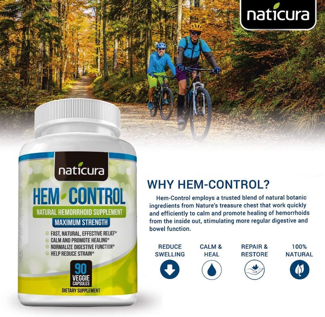 Viên uống hỗ trợ trĩ Naticura Hem Control được đánh giá cao từ người dùng