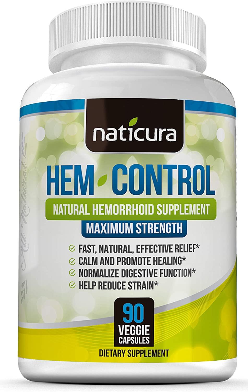 Viên uống hỗ trợtrĩ Naticura Hem Control của Mỹ