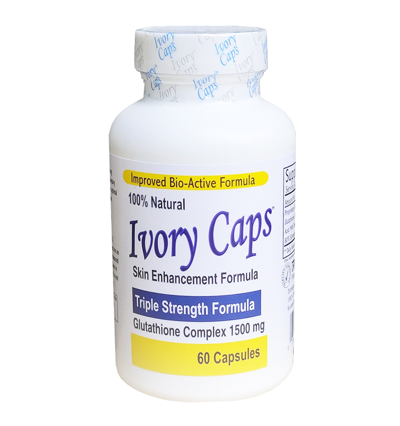 Viên uống Ivory Caps Glutathione trắng da, giảmnám, tàn nhang