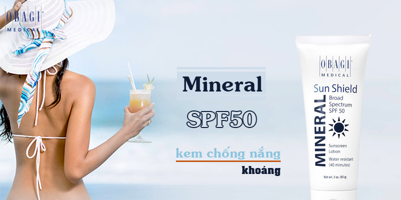 Kem chống nắng Obagi SPF 50 bảo vệ da tối ưu