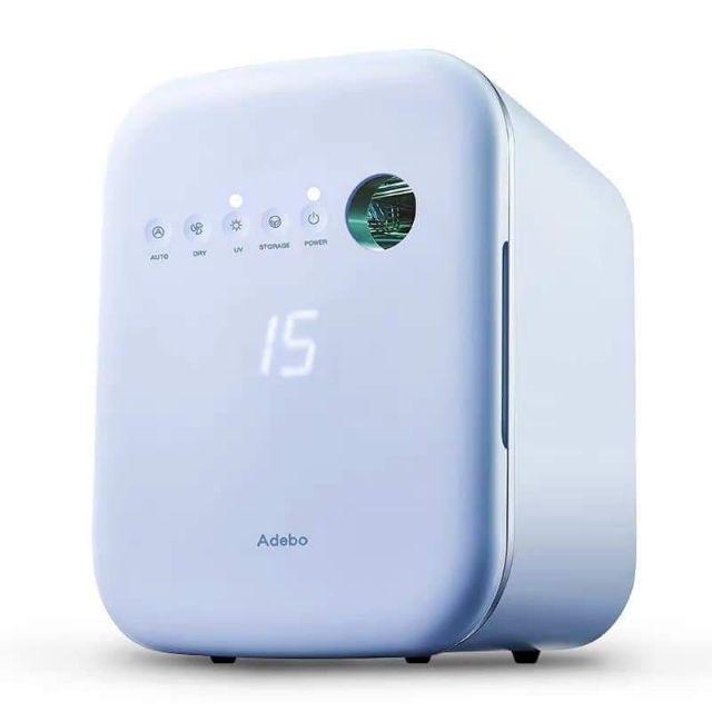 Máy tiệt trùng Adebo sấy khô UV hỗ trợ vệ sinh thông minh
