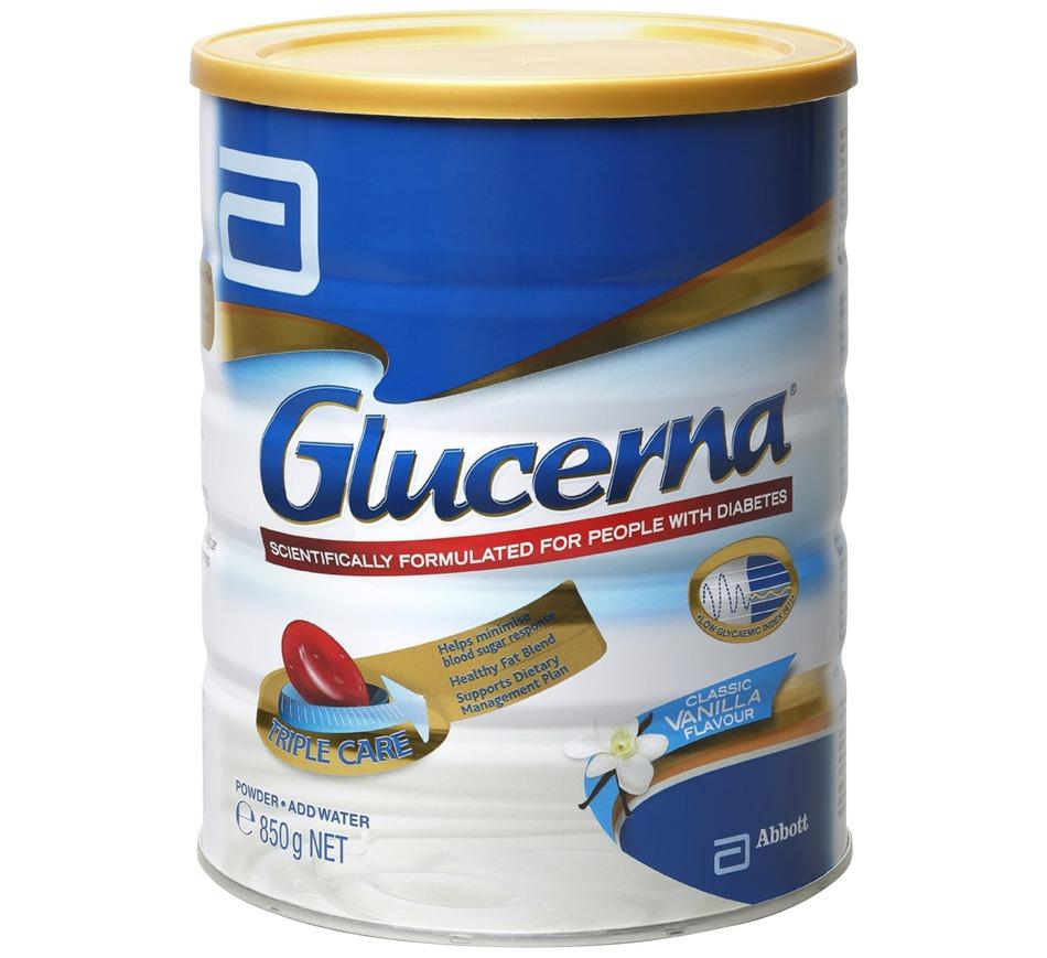 Sữa Glucerna chính hãng từ Úc