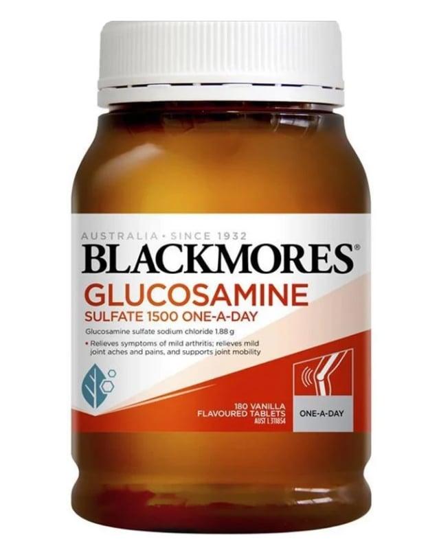 Blackmores Glucosamine Sulfate 1500mg 180 viên mẫu mới