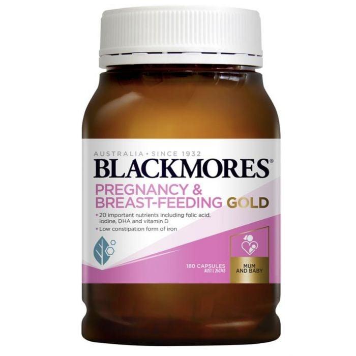 Vitamin tổng hợp Blackmores Pregnancy Gold mẫu mới