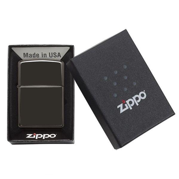 Zippo Ebony 24756 hàng chuẩn bao đẹp