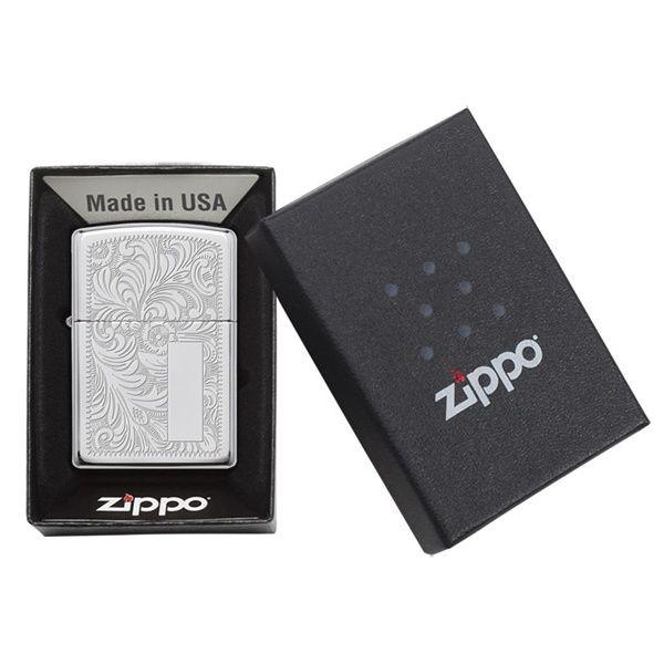 Zippo có hộp đựng, thiết kế ấn tượng, sang trọng