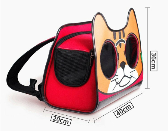 Balo vải cho mèo hình mèo ngộ nghĩnh