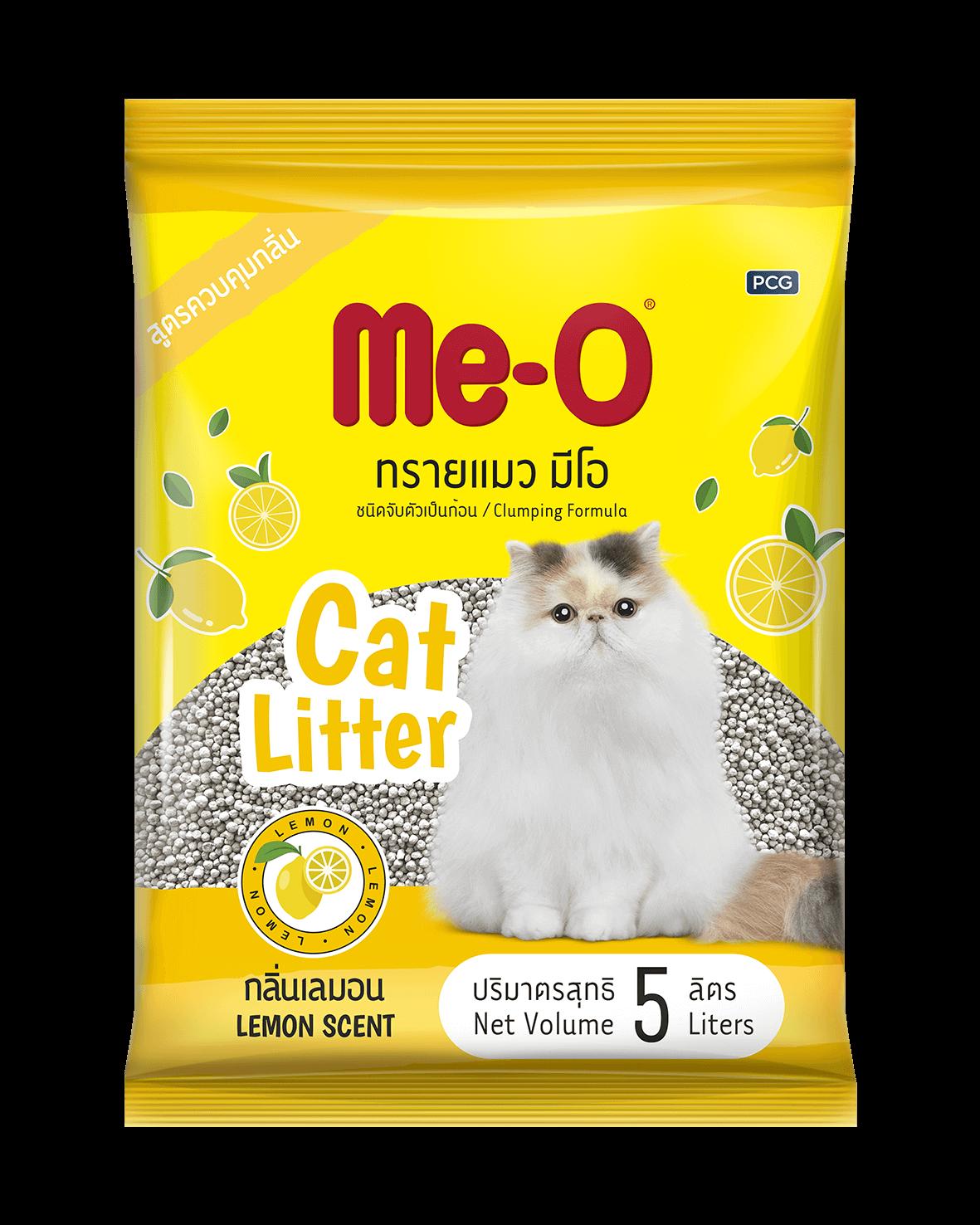 Cát vệ sinh Me-O Cat Litter Lemon Scent