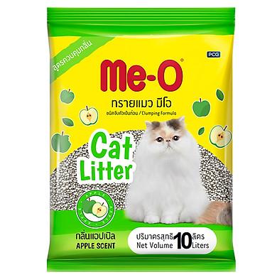 Cát  Me-O Cat Litter hương táo vệ sinh cho mèo