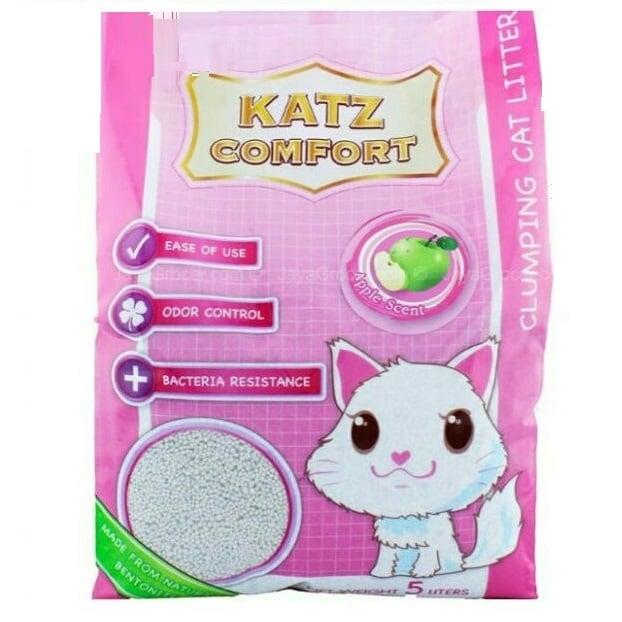 Cát vệ sinh Katz Comfort Cat Litter Apple Scent