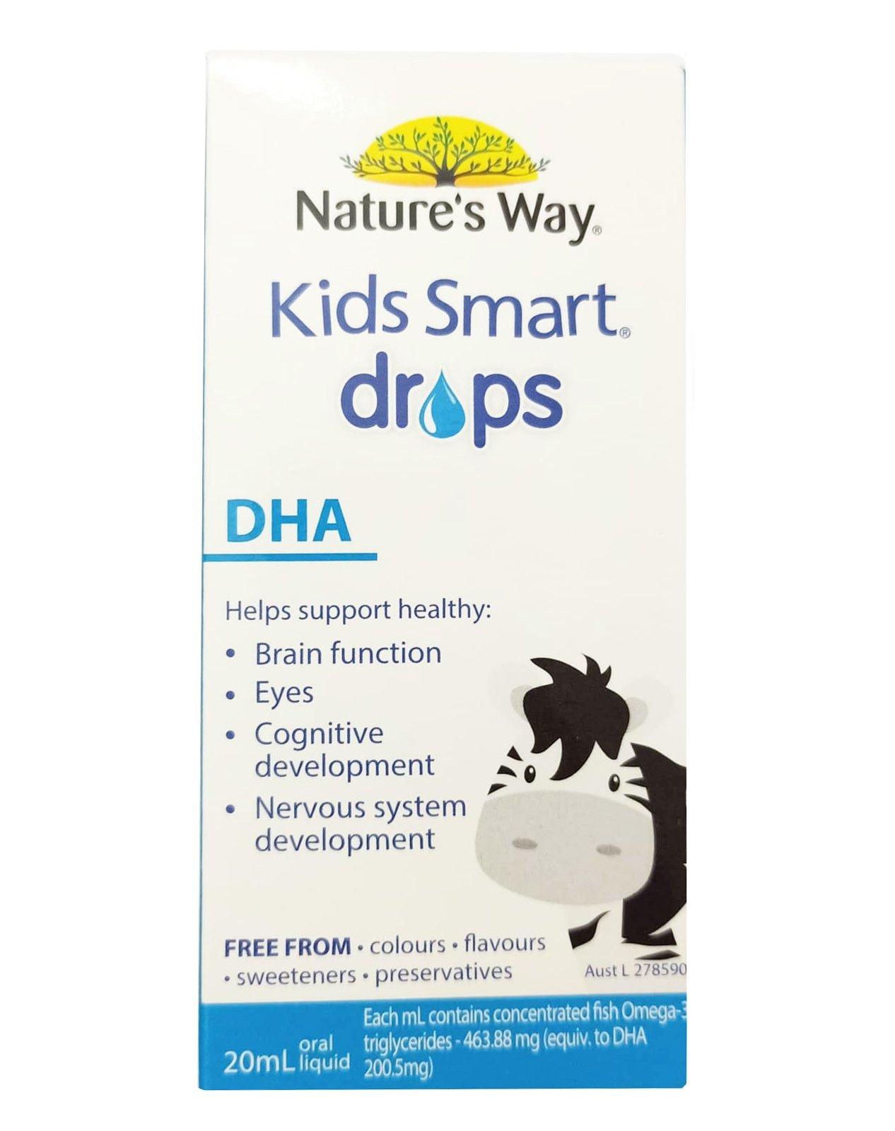 DHA dạng giọt - Nature's Way Kids Smart DHA Drops