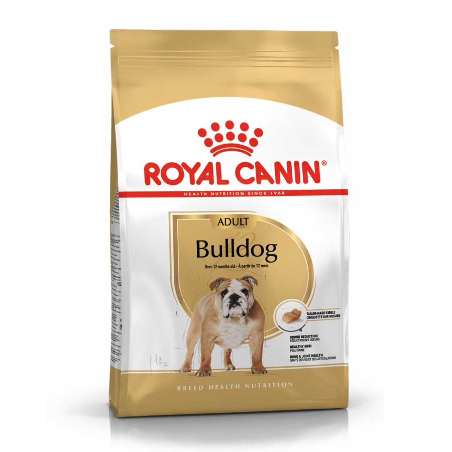 Thức ăn hạt Royal Canin Bulldog Adultchuyên sử dụng cho chó Bull trên 12 tháng tuổi