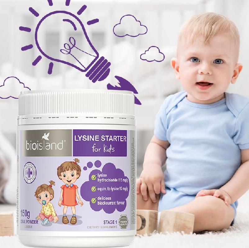 Tăng chiều cao Lysine Úc cho trẻ phát triển kịp lứa tuổi