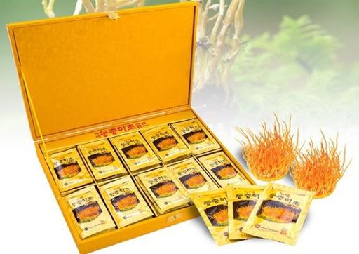 Nước đông trùng hạ thảo KangHwa thành phần nguyên liệu tiêu chuẩn, cao cấp