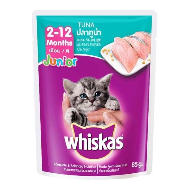 Pate cho mèo con Whiskas cá ngừ