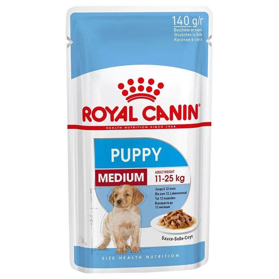 Pate cho chó cỡ trung Royal Canin Medium Puppy dạng gói