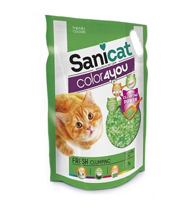 Cát thủy tinh vón cục cho mèo hương thơm mát