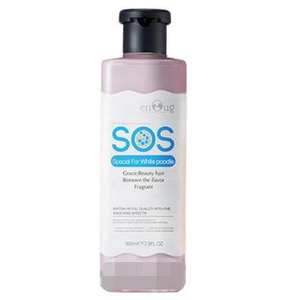 Sữa tắm SOS cho Poodle lông trắng