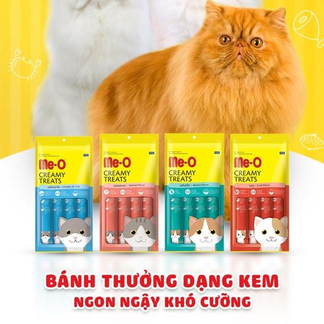 Bánh thưởng dạng kem cho mèo Me-O Creamy Treats