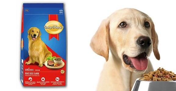 Thức ăn dinh dưỡng cho chó lớn Smartheart Adult Roast Beef Flavor vị bò