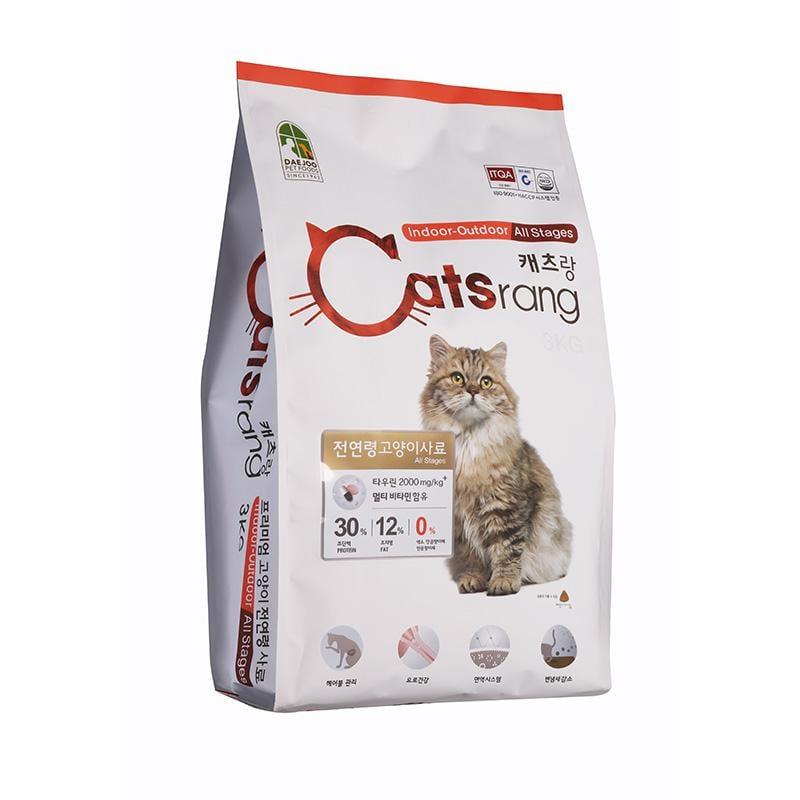Thức ăn hạt Catsrang cho mọi loại mèo