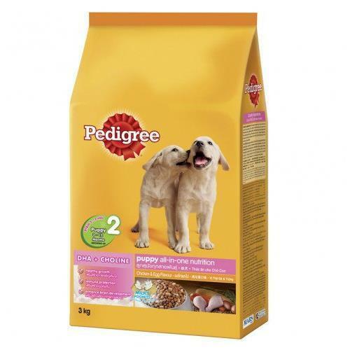 Thức ăn cho chó con Pedigree vị gà và trứng