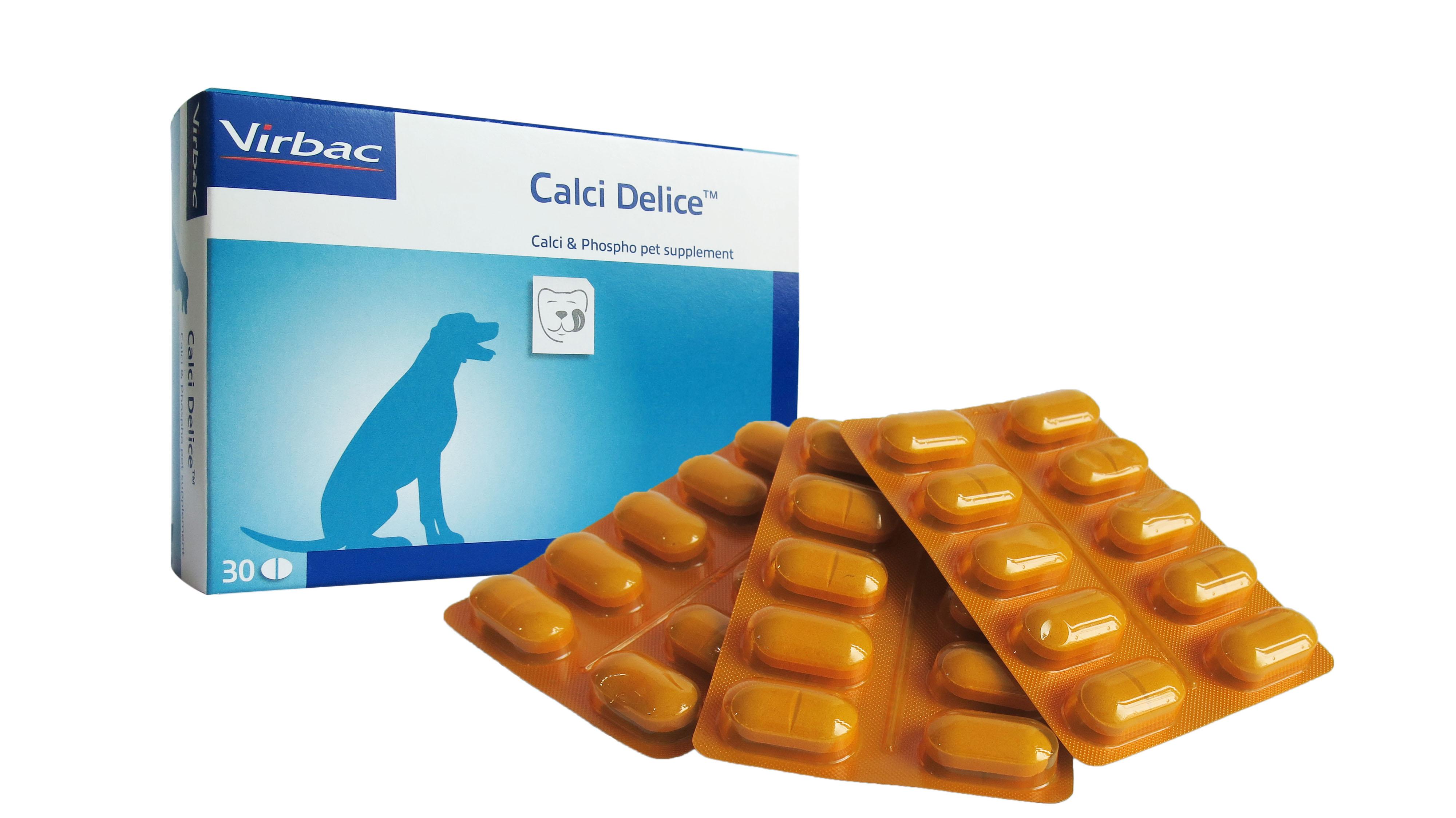 Viên uống hỗ trợ bổ sung canxi và khoáng chất cần thiết cho chó mèo