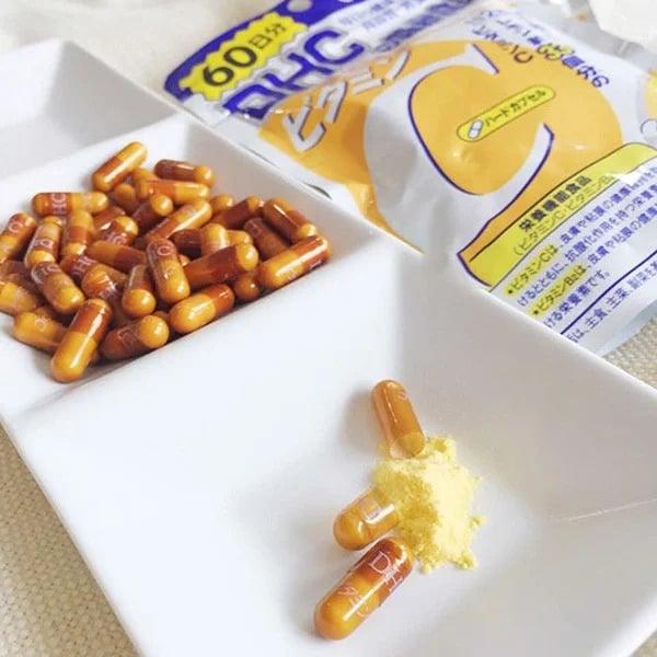 Viên DHC vitamin C Nhật Bản hỗ trợ chống nắng