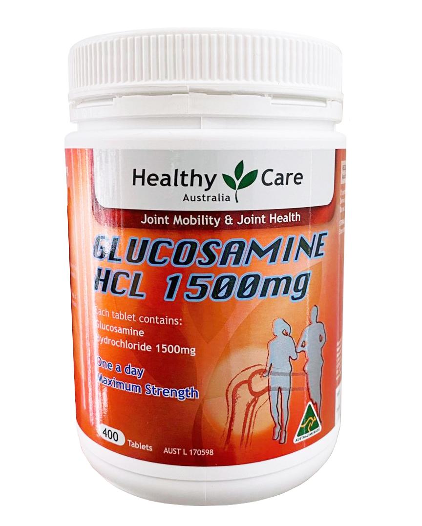 Healthy Care Glucosamine HCL 1500mg Úc