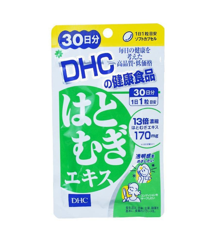 Viên uống hỗ trợ trắng da DHC 20 Viên Coix Extract Nhật Bản
