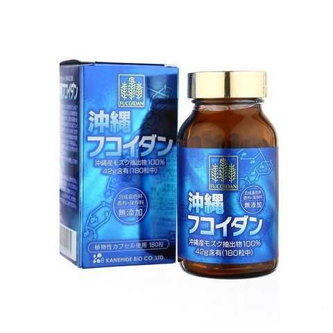 Viên uống Okinawa Fucoidan cải thiện và chăm sóc sức khỏe tối ưu