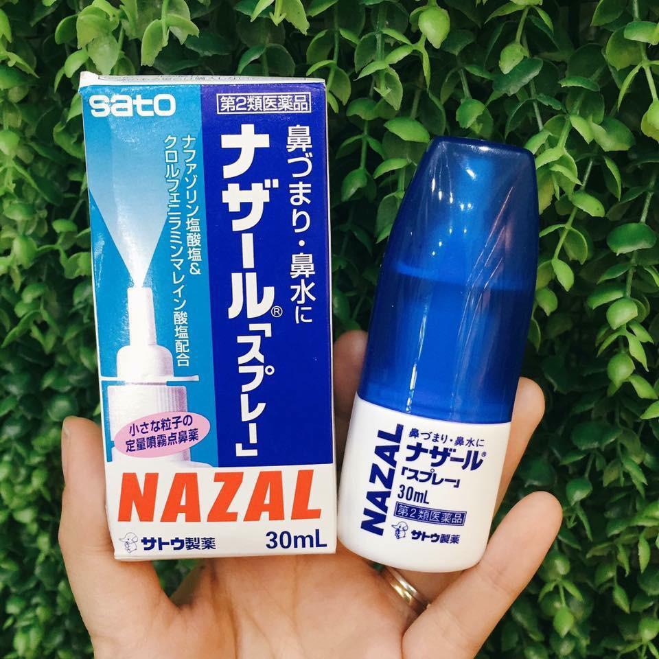 Xịt mũi Nazal Nhật Bản cho trẻ từ 7 tuổi trở lên
