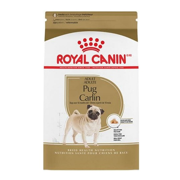Thức ăn hạt cho chó Royal Canin Pug Adult