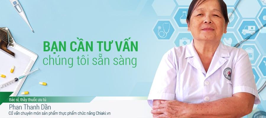 Bác sĩ Phan Thanh Dần chiaki.vn
