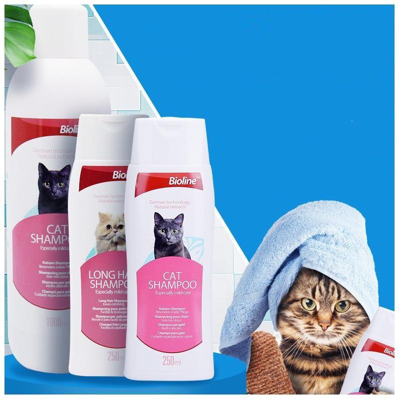 Dầu gội cho mèo Bioline Cat Shampoo chăm sóc cho mèo