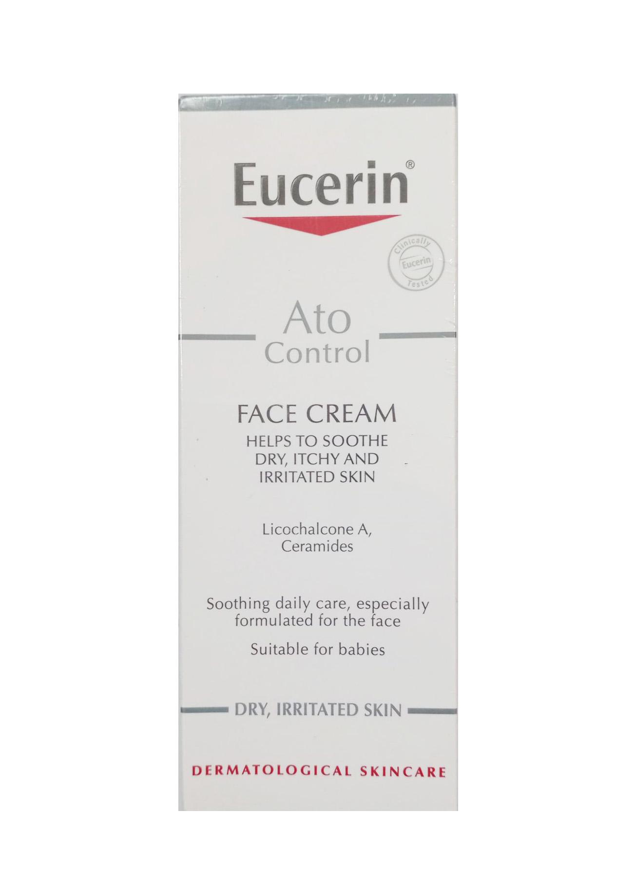 Kem dưỡng da mặt giảm viêm ngứa Eucerin giảm khó chịu do viêm da cơ địa