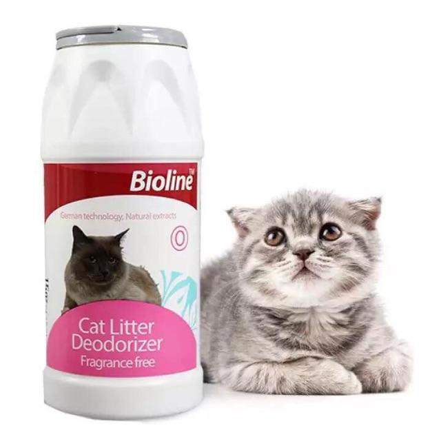 Bột khử mùi cho mèo và bảo vệ không gian sống