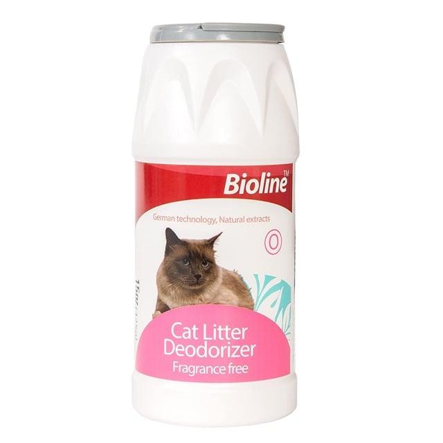 Bột khử mùi vệ sinh cho mèo Bioline cat litter