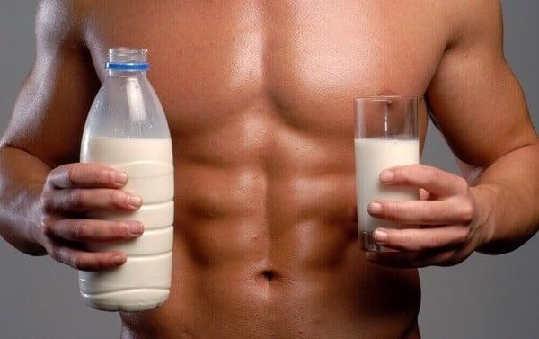 sữa tăng cân, tăng cơ