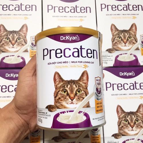 Sữa bột Dr.Kyan Precaten cho mèo dạng lon 400g