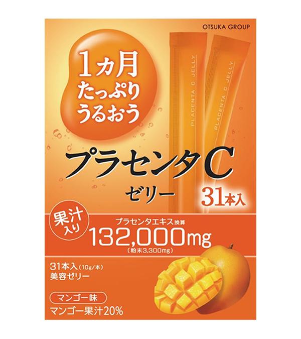 Thạch Collagen Otsuka Skin C hương xoài