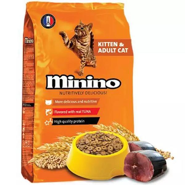 Thức ăn hạt vị cá ngừ dinh dưỡng cho mèo