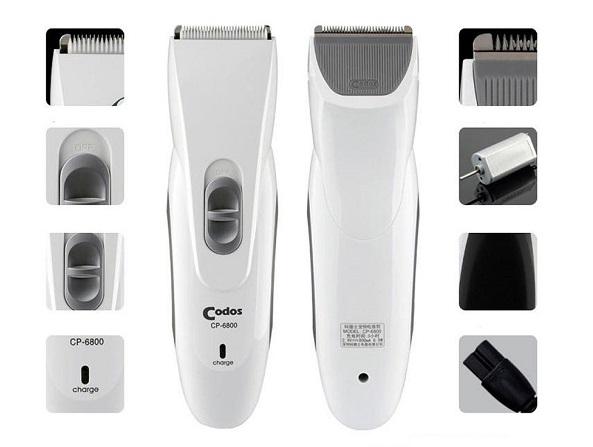 Bộ sản phẩm tông đơ Codos CP 6800 cắt tỉa lông cho chó mèo
