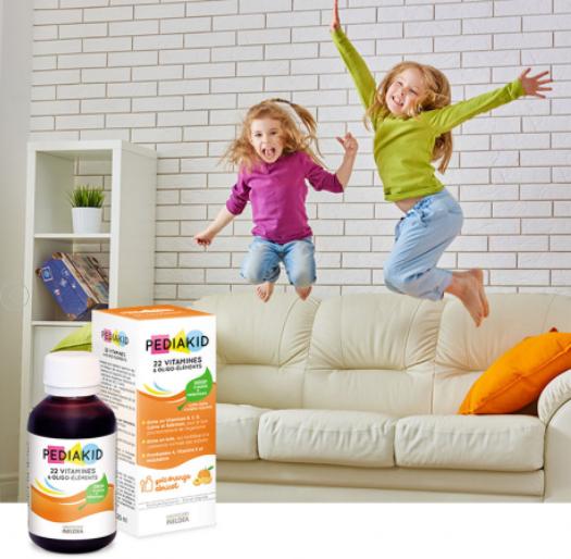 Siro 22 Vitamines Pediakid 125ml chính hãng của Pháp