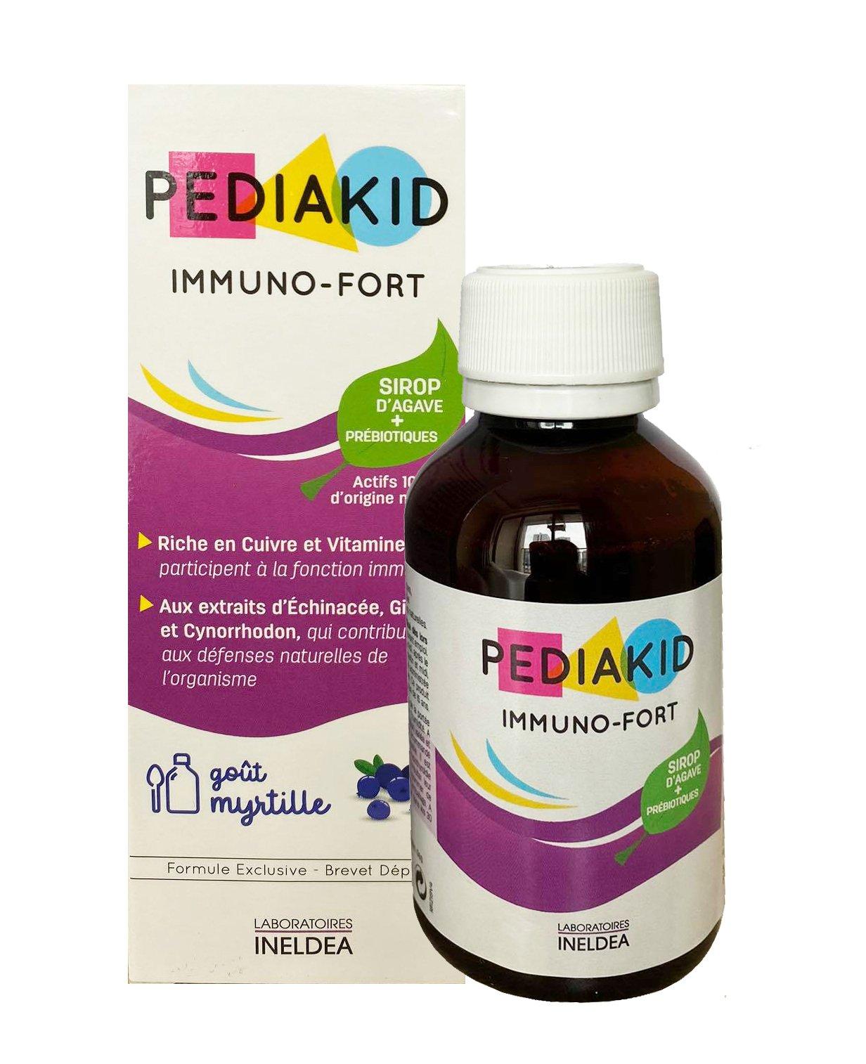 Pediakid Immuno - Fortifiant chính hãng của Pháp