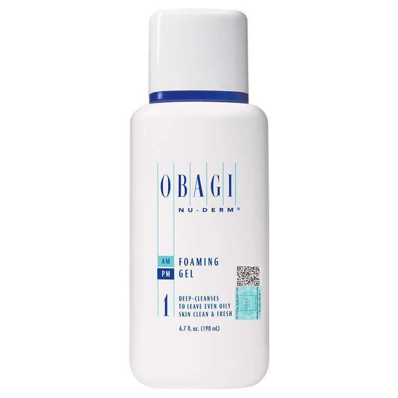 Sữa rửa mặt Obagi Foaming Gel 1 chăm sóc da dầu