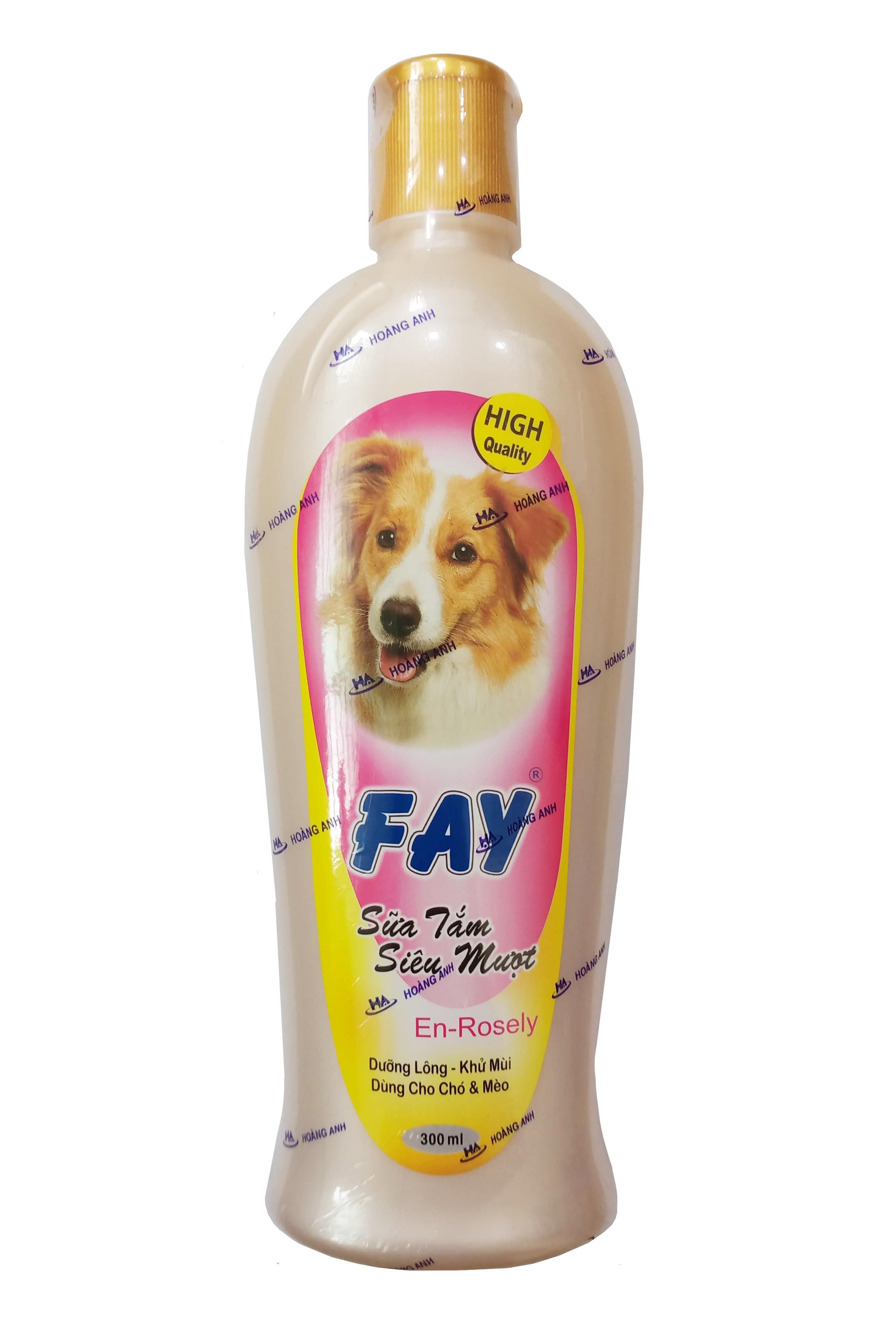 Sữa tắm Fay En-Rosely cho chó mèo chai 300ml
